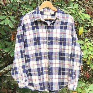 L.L. Bean Plus Size Flannel